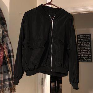 Black Bomber Booboo jacket